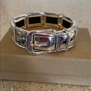 Jewelry - Bracelet-silver like Mother of pearl